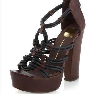 Dolce Vita north chunky platform sandal size 6.5
